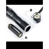 Lanternas Táticas Militar X800 Cree Led T6-g2 10000 Lumes