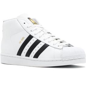 1bc2d5bf1b236 Tenis adidas Originals Pro Model Superstar Bota Blanco Mens