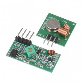 Módulo Transmissor + Receptor Radiofrequência 433 Mhz