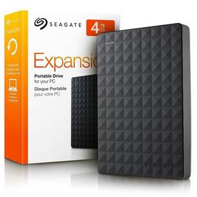 Hd Externo 4tb Seagate Portatil Expansion 1 Ano Garantia Nfe