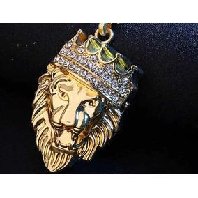 Cadena Bling Lion King Chain Grillz Nuevas Gold Nigga Hiphop