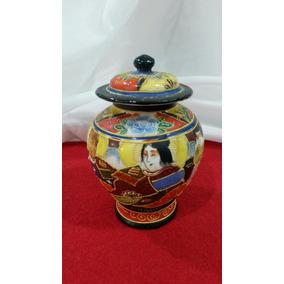 Plj Pequeño Potiche Porcelana Japonesa Art. 1728