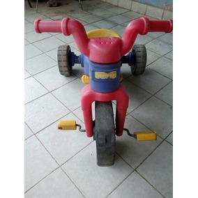 Triciclo Fisher Price Usado Con Rueda Delantera Desgastada