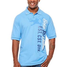 Playera Xl Tall (altos) Xlt Polo Ecko Azul Manga Corta Logo 088c02cb7f2a9