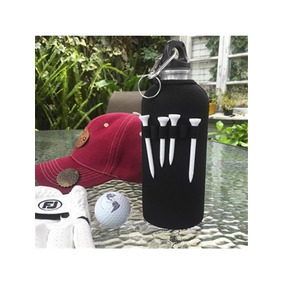 Set Golf Botella En Aluminio Incluye Bola Con 4 Tees