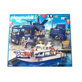 Playmobil 9400 Megaset Policia Federal Alemã - Bundespolizei
