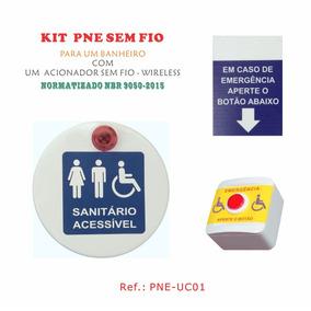 Alarme Para Banheiro Deficiente Pne