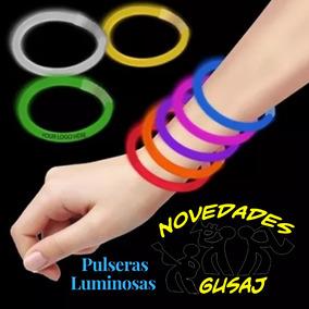 100 Pulseras Luminosas Cyalume Neon Boda Xv Años Fiesta $164