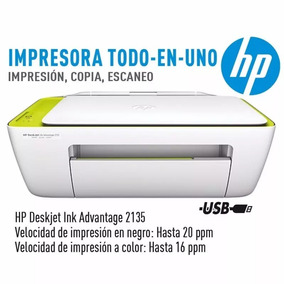 Impressora Hp Deskjet Ink Advantage 2135 Copiadora,scanner