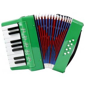 Acordeon A Piano 8bajos 17 Teclas Infantil
