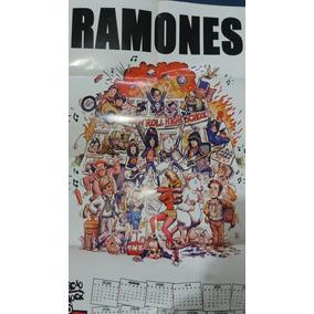 Pôster Caricatura Ramones