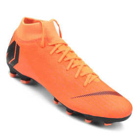 738761eb3fb1d Chuteira Nike Campo Mercurial - Chuteiras Nike de Campo Laranja no ...