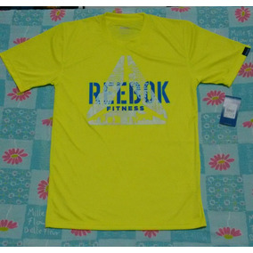 e3c282a320 Reebok Tee-shirt Masc Solar Green - Tam. S