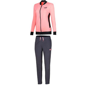 Conjunto Puma Classic Tricot Suit.op 85021328 Coral Dama Oi