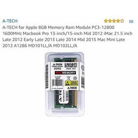 A-tech Para Apple 8gb Memoria Ram Modulo Pc3-12800 1600mhz