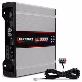 Módulo Amplificador Taramps Hd3000 1 Canal 2 Ohms 3000w Rms