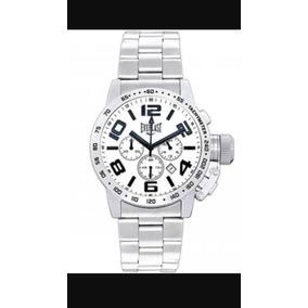 Relógio Cronógrafo Everlast Mod. E054 Pulseira Aço