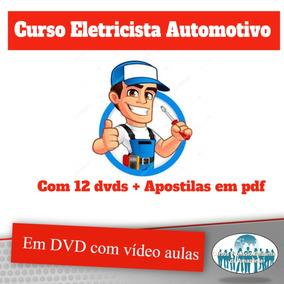 Curso Eletricista Automotivo 12 Dvd Vídeo Aulas Brindes Z14