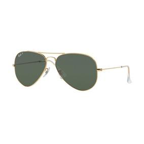 6e72971c4a368 Ray Ban Aviator 55 Polarizado G15 001 58 Dourado De Sol - Óculos no ...