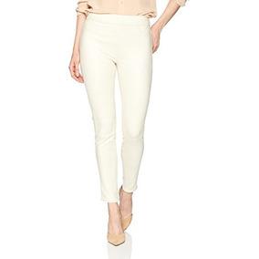 Jeans Ajustados Jenny Comfort On De Jeans Para Mujer, Blanco