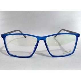 Armaçao De Oculos De Gra Masculino Em Acetato Da Moda - Óculos Azul ... abd35f135c