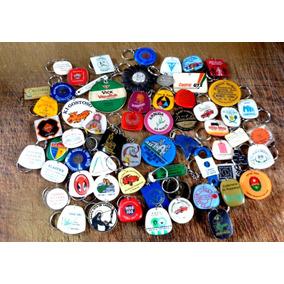Coleção De 153 Chaveiros Década De 70 Variados Bom Estado
