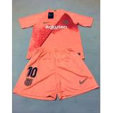 Camisa Barcelona Infantil Rosa - Futebol no Mercado Livre Brasil 10f7ff73f8744