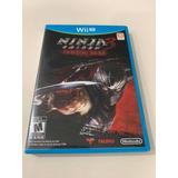 Ninja 3 Gaiden Wii U Fisico Usado