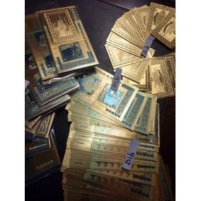 10 Notas Zimbabwe 100 Trilhoes Dolares Moeda Cedula Ouro Dib