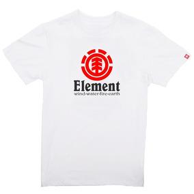 Camiseta Skate Element Logo Branca - Original 66c114c19e9