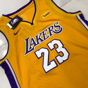 Camiseta Nba Lakers Lebron James 23 Original Frete Grátis 5b61ff18450b8