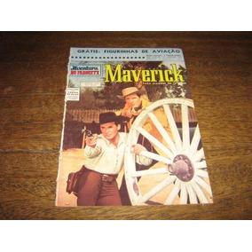 Maverick Ave No Faroeste Nº 8 Ago 1962 Ed Cruzeiro Original
