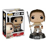 Funko Pop Stars Wars Rey / Snowtrooper First Order
