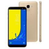 Samsung Galaxy J6 32gb 2gb Ram Dourado C/ Cartão Sd 32gb Nf