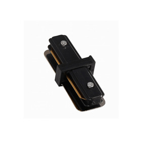 Conector Reto Para Trilho Eletrificado Preto Quality Quality