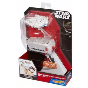 Star Wars Hot Wheels Controlador De Naves Com 4