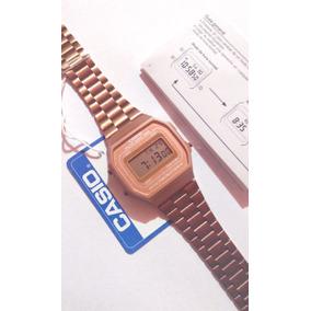 3280c2e3c909 Reloj Rosa Mate A168 Rose Gold Cobre Instructivo Gratis Retr
