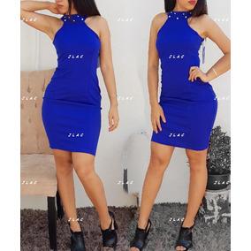 c22b0f563 Vestido Azul Rey Cortos Vestidos Casuales Mujer Nuevo Leon ...