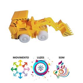 Carregadeira Trator De Brinquedo Luz Som Movimento Promoção