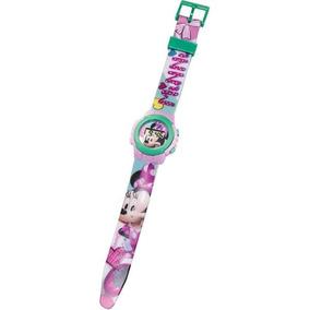 Relogio Infantil Digital Pulso Disney Minnie 4656 Dtc