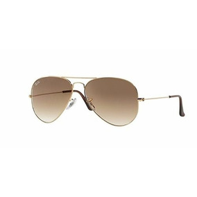 Óculos Ray Ban Aviador Dourado Com Haste Branca Raridade - Óculos no ... 3a0aad55f5