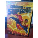 Dvd Grandes Astros Superman Filme Animado Original Dc