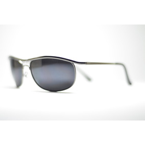 Óculos De Sol Preto Esportivo Pequeno Com Proteção Uv400 Met 4a90b2268b