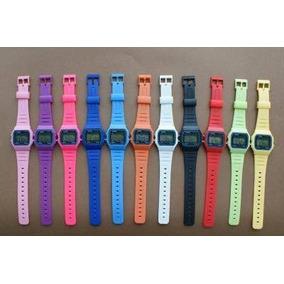 333e2f8336f Relogio Casio F91w Colorido Pulsera - Relógios no Mercado Livre Brasil