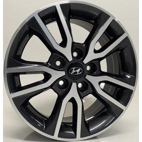 Jogo De 04 Rodas Hyundai Creta Pcd Kr R98 Aro 16 5x114 Novas