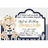 Convite Cha De Bebe Realeza No Mercado Livre Brasil