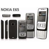 Celular Nokia E65-1 E65 Em Bom Estado Bateria Dura Muito