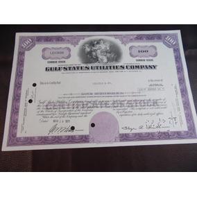 Antigo Documento - Apólice - Usa - 1971