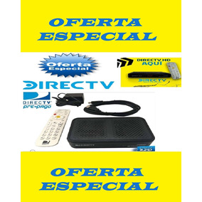 Kit Decodificador Directv Hd Prepago Completo Hd