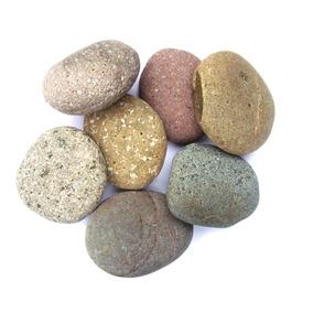 Piedras Para Masajes (planas Y Guresas De Colores) Importada